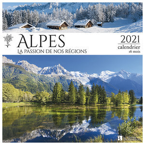 Calendrier 2021 Alpes