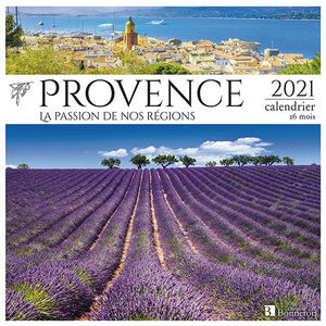 Calendrier 2021 Provence