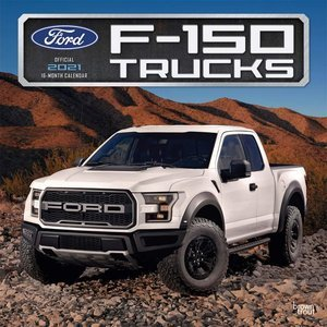 Calendrier 2021 Pickup Ford 150