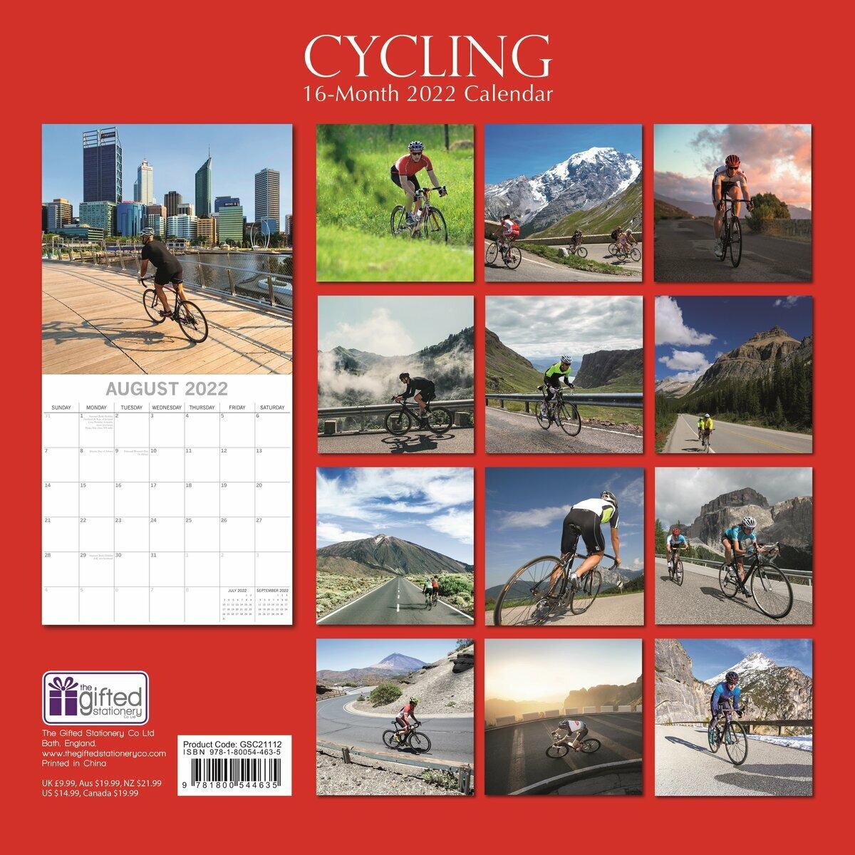 Calendrier Cycliste 2022 Calendrier 2022 Cyclisme