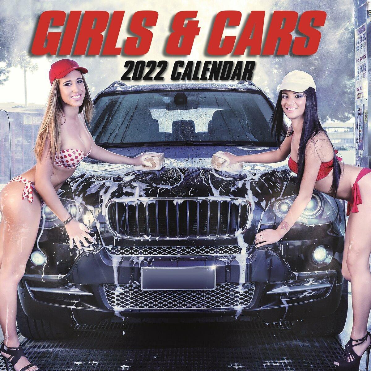 Calendrier 2022 Hot Femme Calendrier 2022 Sexy femme et voiture