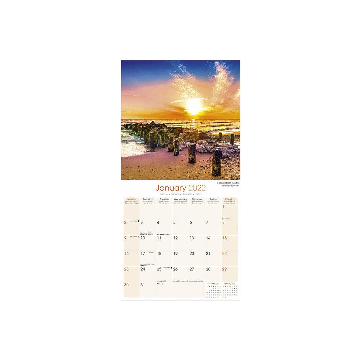 Calendrier 2022 Lever Et Coucher Du Soleil Calendrier 2022 Coucher de soleil