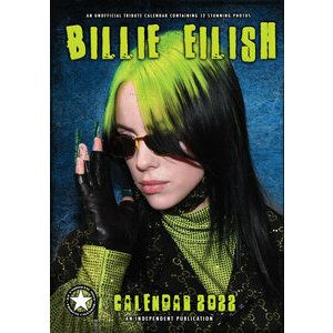 Calendrier 2022 Billie Eilish format A3
