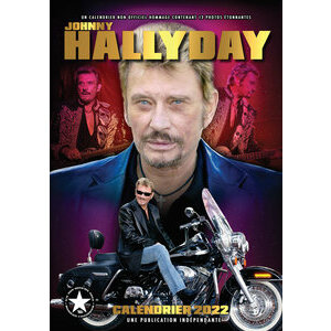 Calendrier 2022 Johnny Hallyday format A3