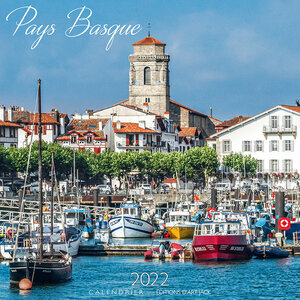 Calendrier 2022 Pays basque -port