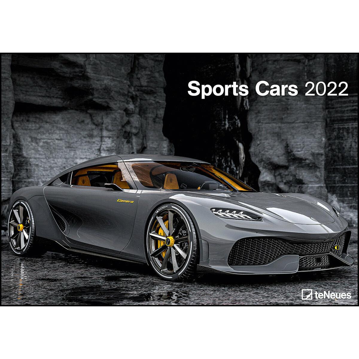 Calendrier Des Sportifs 2022 Maxi Calendrier 2022 Voiture sportive