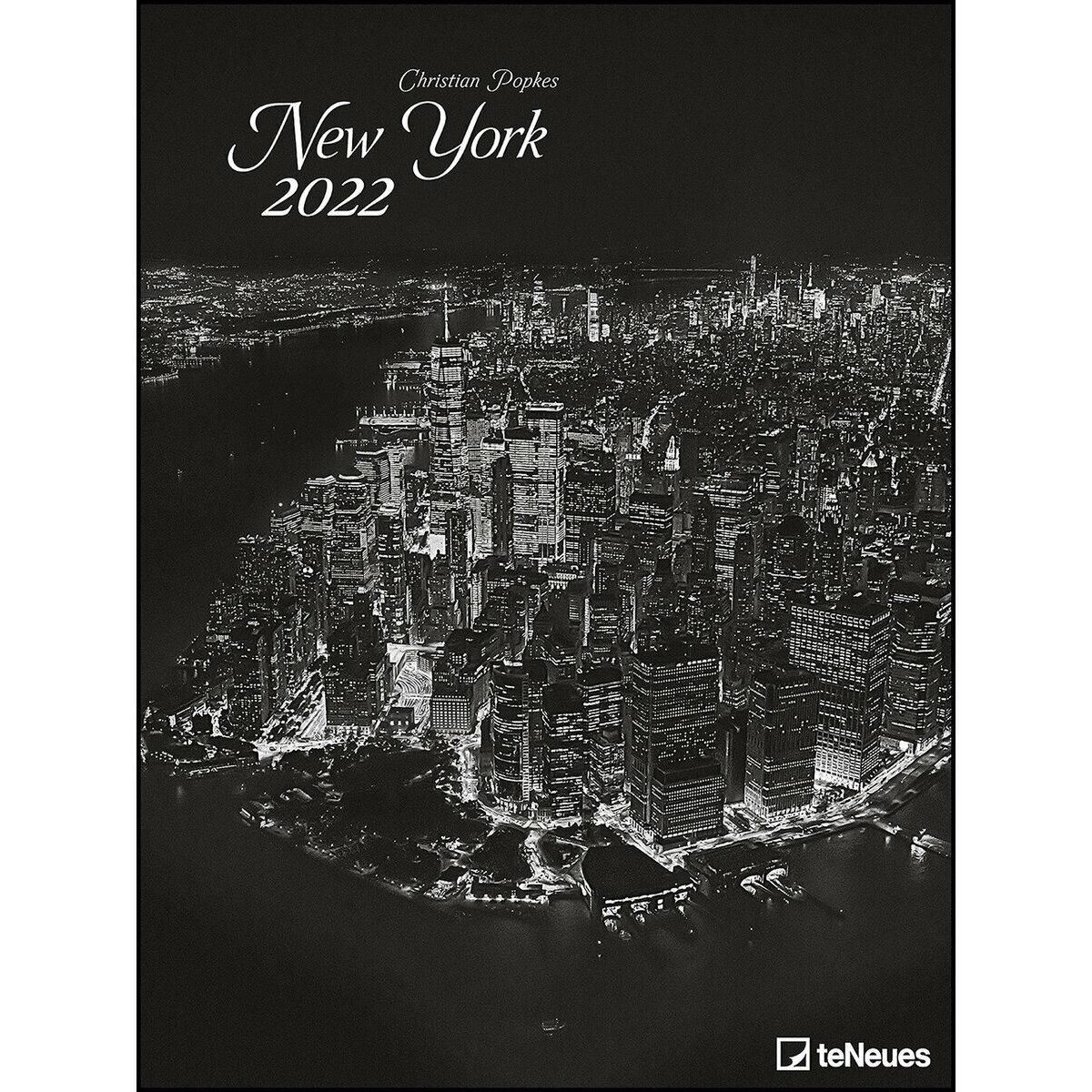 Calendrier La Poste 2022 Maxi Calendrier Poster 2022 New York